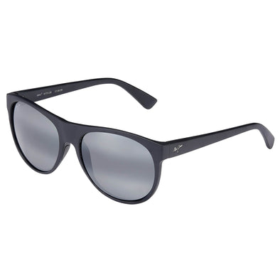 Maui Jim Rising Sun Matte Black Polarized Sunglasses - Sixbows.com