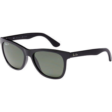 Ray-Ban Black Polarized Sunglasses - Sixbows.com