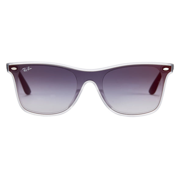 Ray-Ban Matte Transparent Sunglasses - Sixbows.com