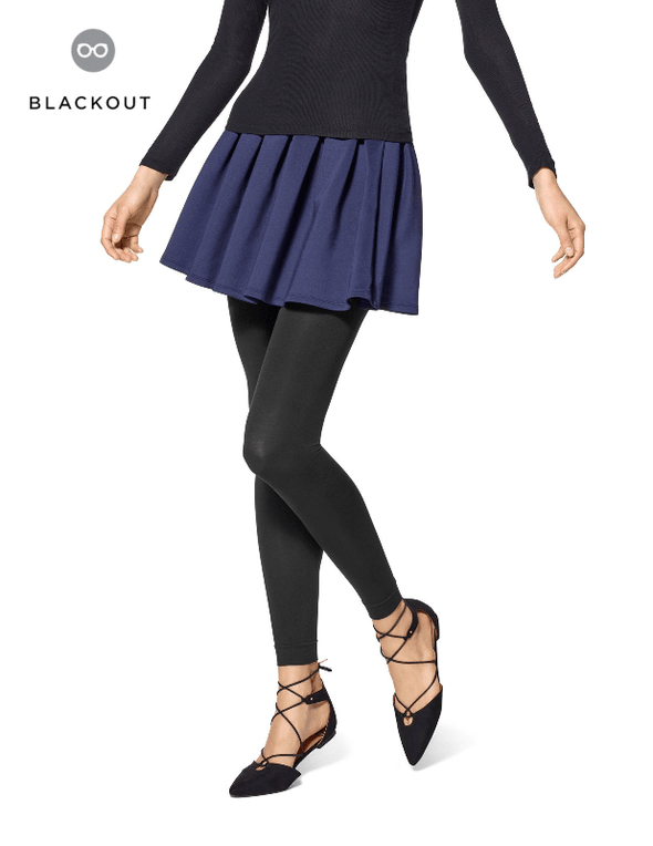 STYLETECH BLACKOUT Footless Tights By Hue - Sixbows.com