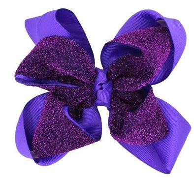 Two Tone Hair Bow - Sixbows.com