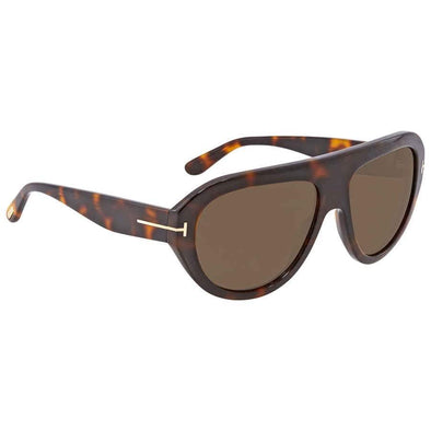 Tom Ford Felix Brown Pilot Sunglasses - Sixbows.com