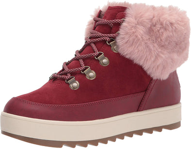 Koolaburra by UGG Women's Tynlee Lace-up Snow Boot - Sixbows.com