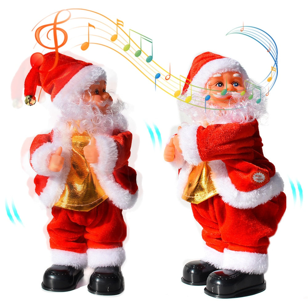 Electric Santa  Funny Dance