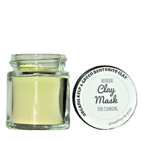 Mineral Clay Mask- Pore Cleansing- Organic Kelp and Green Bentonite Clay