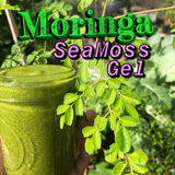 Organic Moringa Sea Moss Gel - Texas Grown