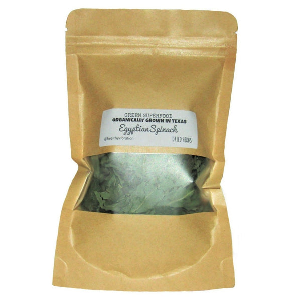Egyptian Spinach Loose Leaf tea- Makes 10 cups- Organic