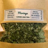 Organic Moringa- Loose Leaf Tea- Locally Grown in Texas