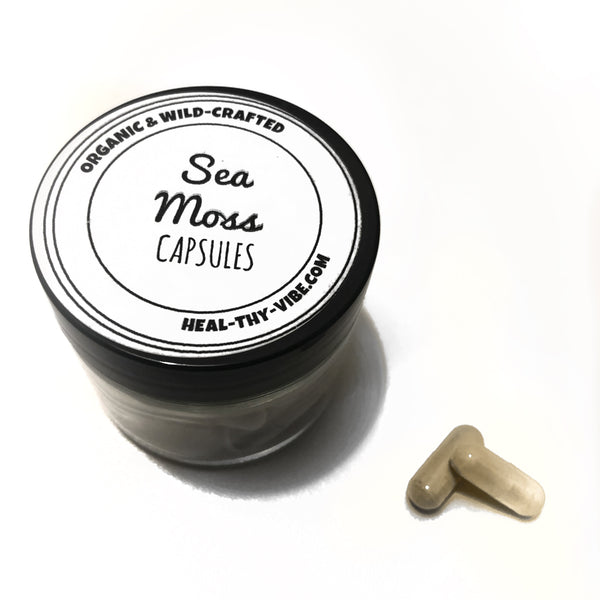 Sea Moss Capsules - Organic & Wild Crafted