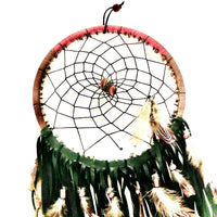 Native American Dream Catcher - tigers eye & jasper