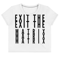 Exit The Matrix Crop Top