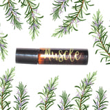 Muscle Pain Roller- doTERRA- Eucalyptus, Peppermint & Rosemary Essential oil- Organic