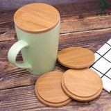 Bamboo Tree Lid Bamboo Cup Covers