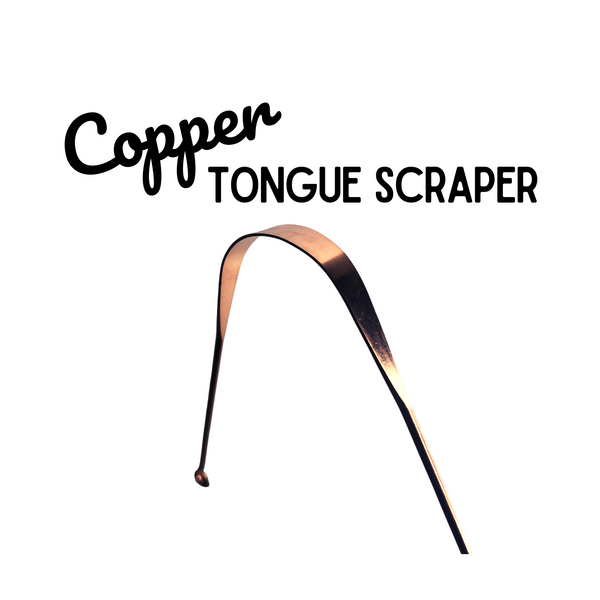 Copper Tongue Scraper - Oral Care Hygiene Tool