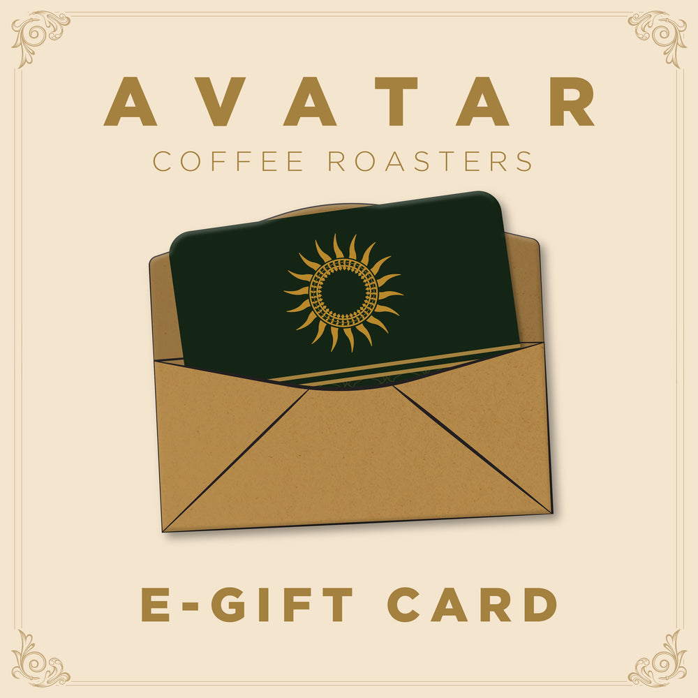 Avatar Coffee Roasters Gift card