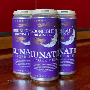 4 Pack of Lunatic beer