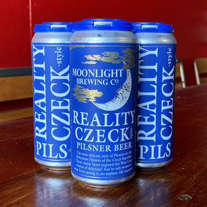 4 Pack of Reality Czeck beer