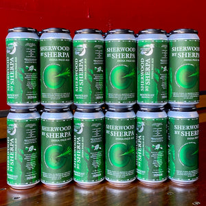 Case of Sherwood By Sherpa beer