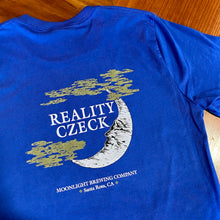Load image into Gallery viewer, Men's Reality Czeck t-shirt back