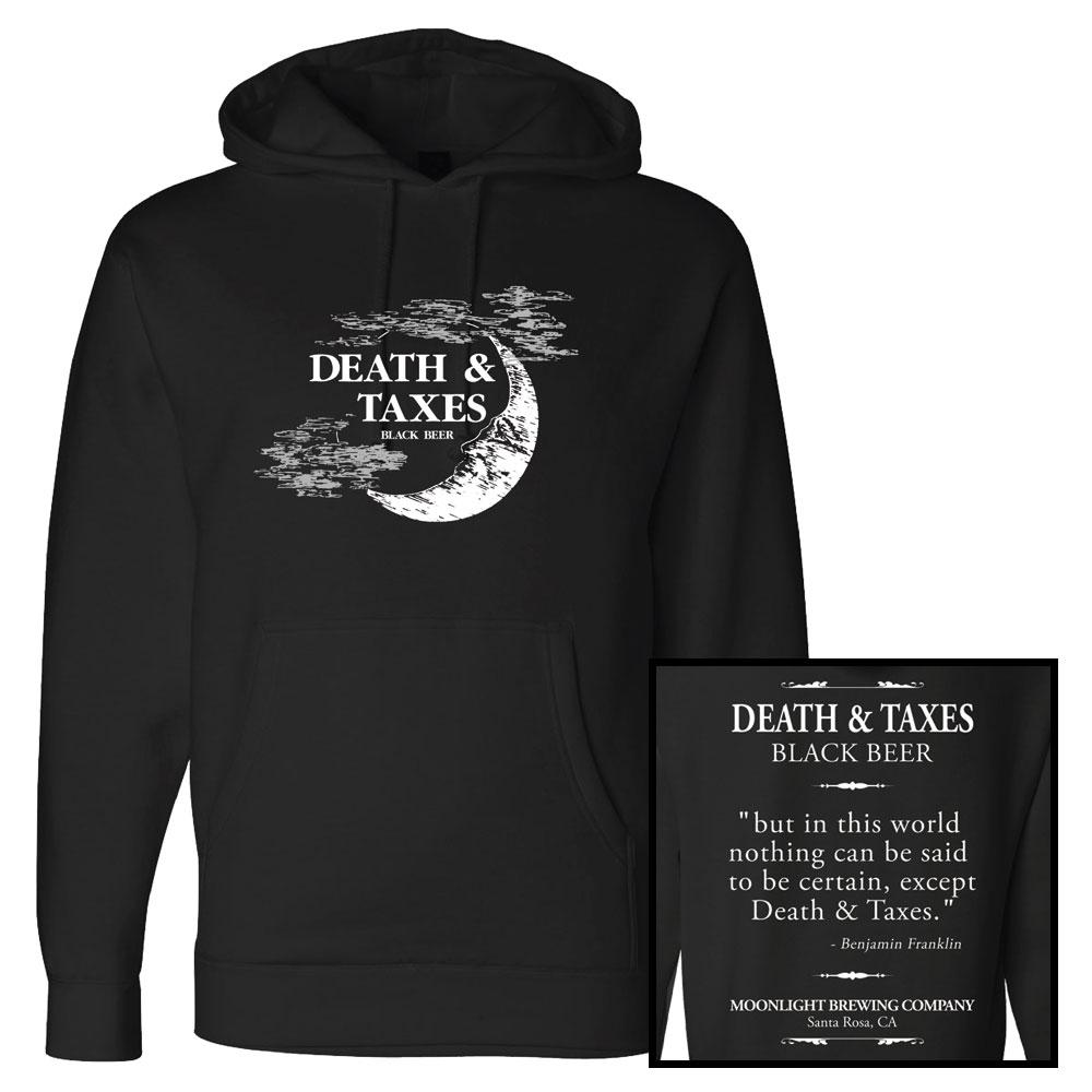 Unisex Iconic Death & Taxes Pullover Hoodie