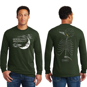 Unisex Moonlight Brewing Long Sleeve T-Shirt