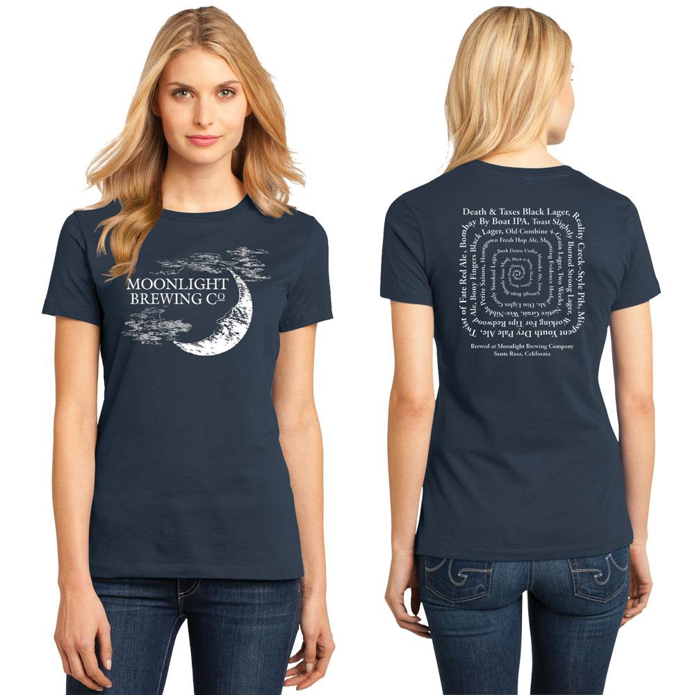 Women's Beer Spiral T-Shirt
