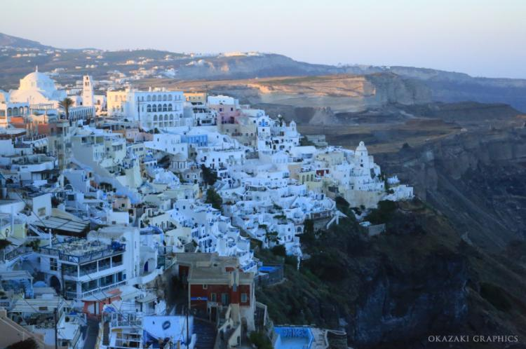 Great Oia morning