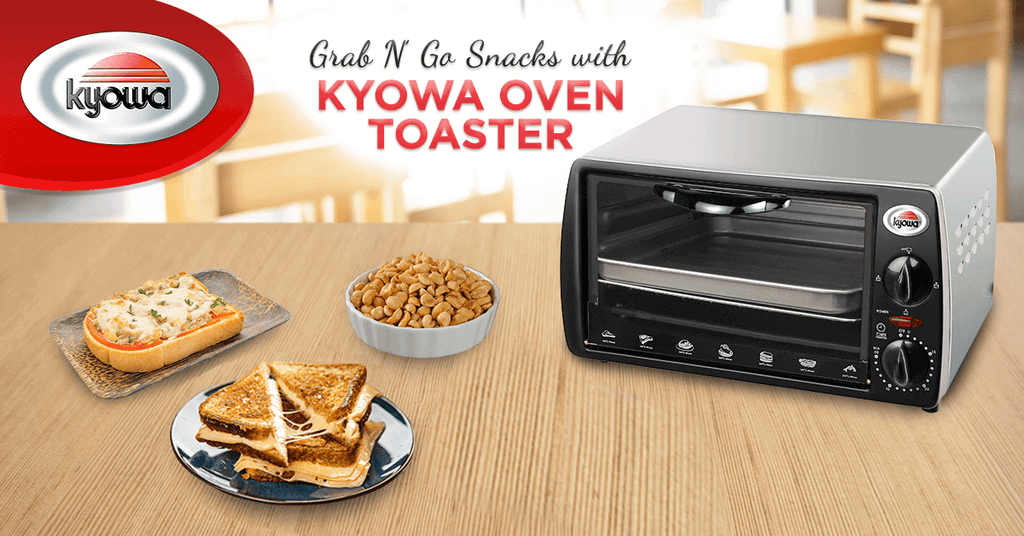 Grab n' Go Snacks with Kyowa Oven Toaster