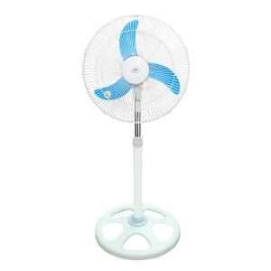 Electric Stand Fan (White/Blue) (K6715)