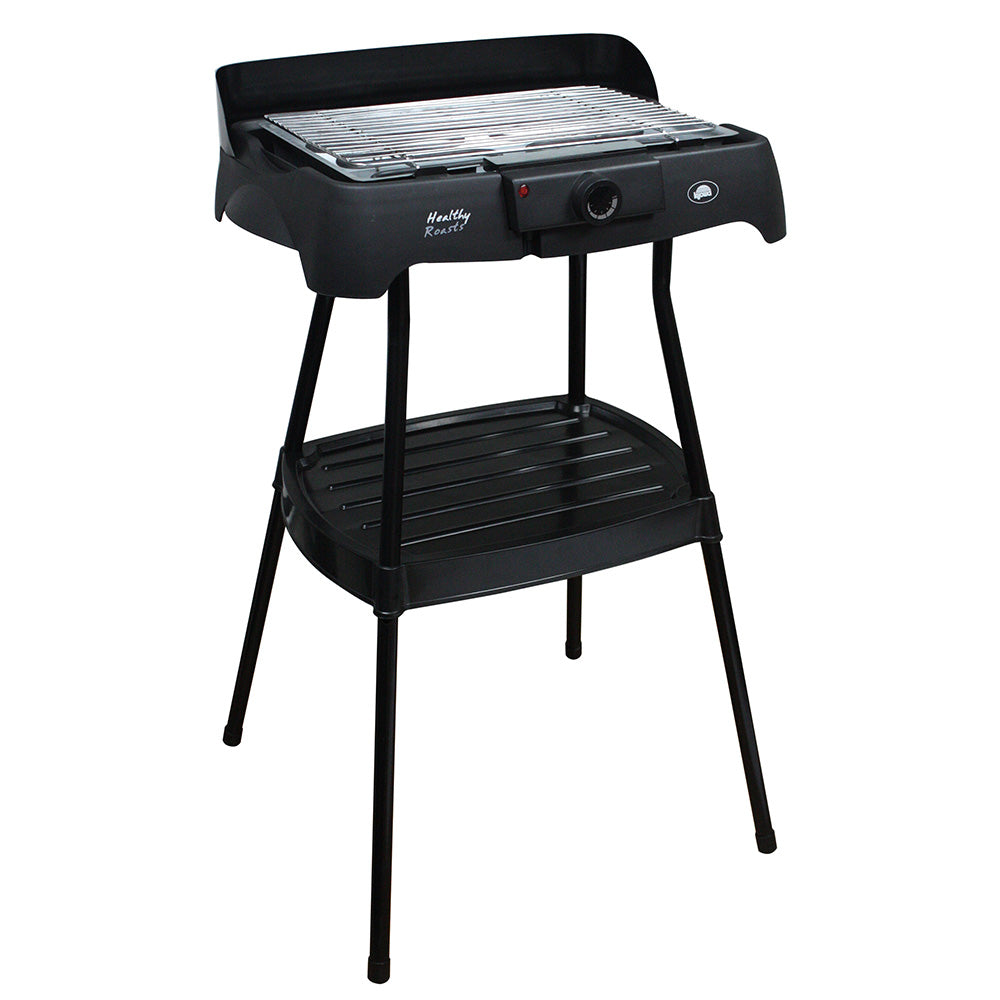 Electric Griller w/ Stand (Black) (K3708)