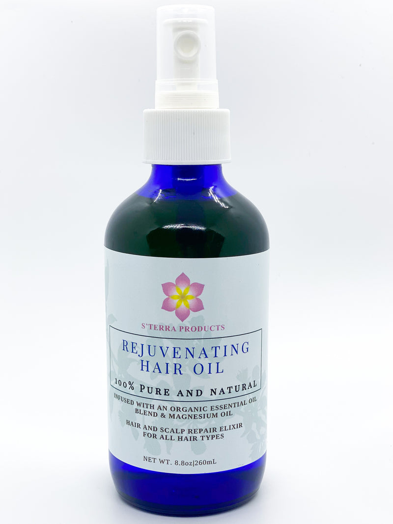 Rejuvenating Hair Oil with Magnesium