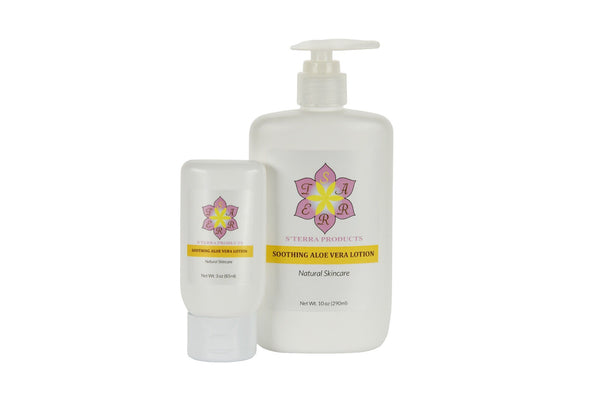 Soothing Aloe Vera Lotion Bundle
