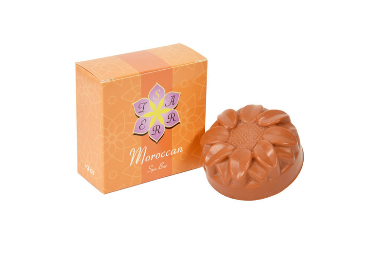 REVITALIZE Red Moroccan Clay Spa Bar