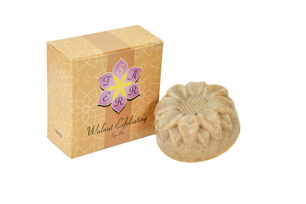 Exfoliating Walnut Soap Bar