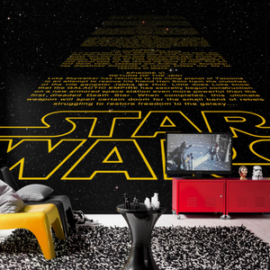 Fototapet Disney Star Wars Intro - 9,3m2 - Home And Beauty AS