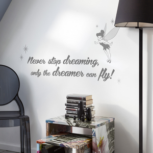 Veggdekor | Never Stop Dreaming - Home And Beauty AS