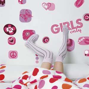 Veggdekor | Girls only - Home And Beauty AS