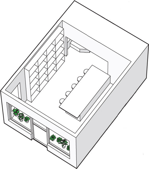 Store layout and design