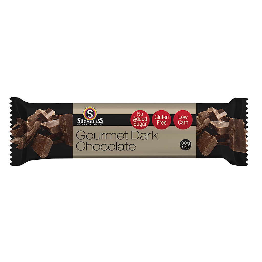 Gourmet Dark Chocolate - Sugarless Confectionery