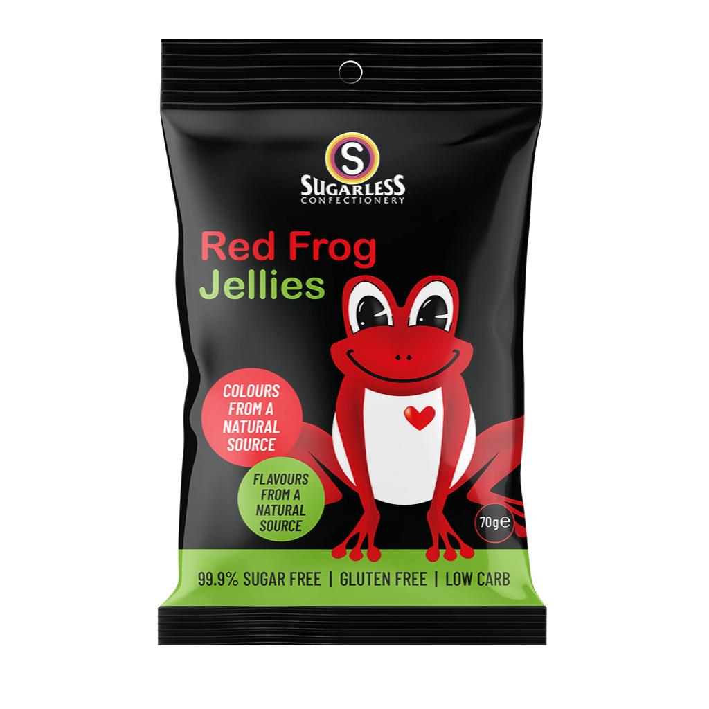 Red Frogs - Sugarless Confectionery
