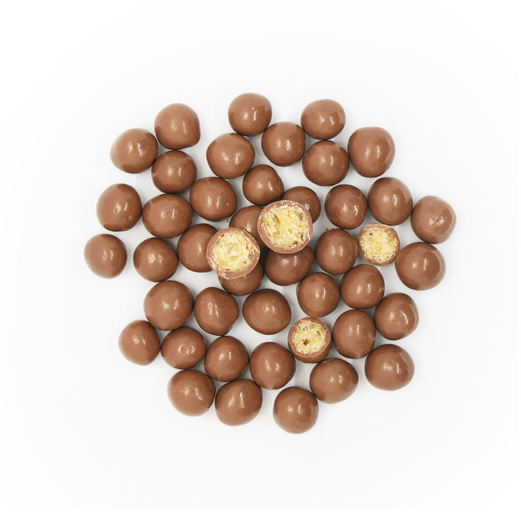 Chocolate Crunch Balls - Sugarless Confectionery
