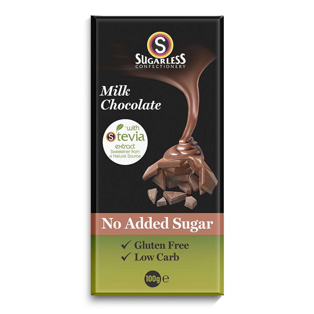 Milk Chocolate - Sugarless Confectionery
