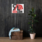 Red Lion Logo Canvas Print