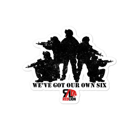 Our Own Six Sticker