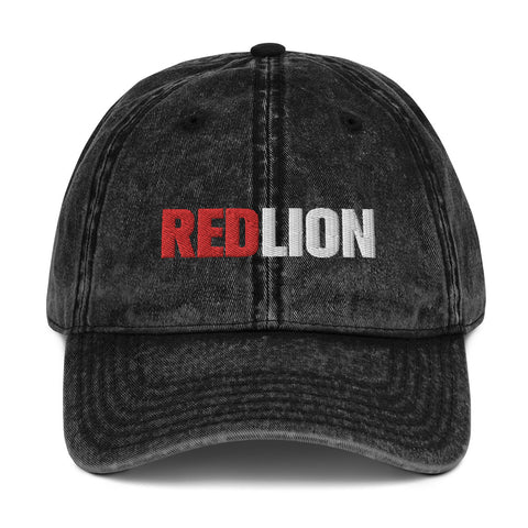 Red Lion Vintage Cotton Twill Cap