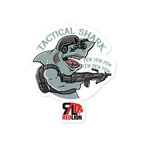 Tactical Shark Sticker