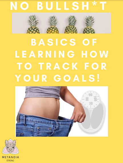 Basics of learning how to track for your goals
