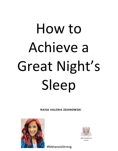 How to Achieve a Great Night's Sleep