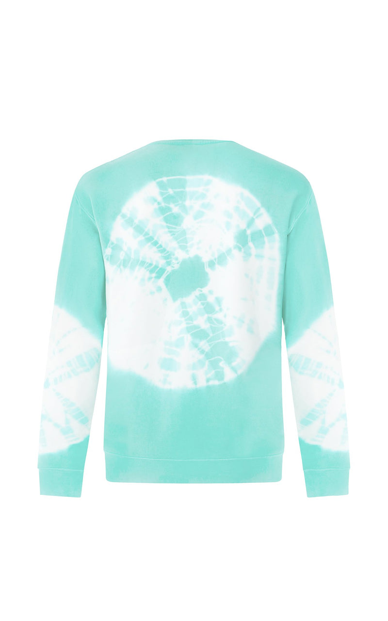 TURQUOISE HIPPIE CLUB SWEATSHIRT - PARI USA , Wearepari, Paul Ripke, pari swim club, Newport Beach, pari