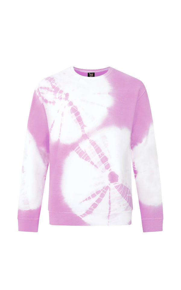 LILAC HIPPIE CLUB SWEATSHIRT - PARI USA , Wearepari, Paul Ripke, pari swim club, Newport Beach, pari